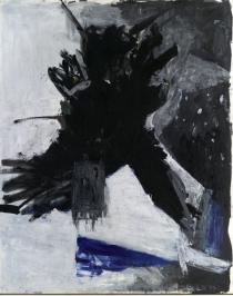 Georg Baselitz, Adler / Eagle, 1977. Deutsche Bank Collection at the Städel Museum, Frankfurt am Main / Germany