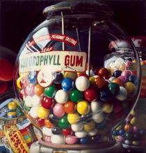 Charles Bell, Gum Ball #1 �Sugar Daddy�, 1975