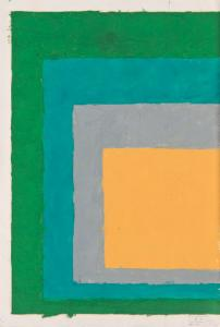 "Josef Albers, Study for ""Homage to the Square"", 1964, Deutsche Bank Collection, © The Josef and Any Albers Foundation/VG Bild-Kunst, Bonn 2009"