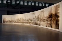 Cai Guo-Qiang, The Bund Without Us, 2013, Installation at Power Station of Art, Shanghai, 2014. Courtesy Cai Studio. Photo: Zhang Feiyu.
