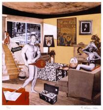Richard Hamilton, Just what was it that made yesterday's homes so different, so appealing?, 1992, � Richard Hamilton.