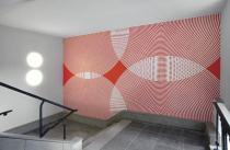 Rebecca Michaelis,  Neochori ,  wall painting, 2011 . Courtesy the artist