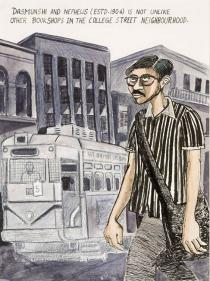 Sarnath Banerjee, from Tyranny of Cataloguing, 2008. Deutsche Bank Collection. Courtesy Sarnath Banerjee & Project 88, Mumbai
