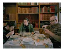 "Nikolas Ventourakis, Lunch, from ""Leaving Utopia"". Courtesy the artist"
