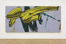 Roy Lichtenstein, Yellow and Green Brushstrokes, 1966. © The Estate of Roy Lichtenstein/ VG Bild-Kunst, Bonn 2017. Photo: Axel Schneider