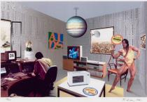 Richard Hamilton, Just what is it that makes today's homes so different?, 1994. Deutsche Bank Collection