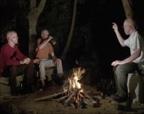 João Maria Gusmão + Pedro Paiva, Three albinos telling jokes by the fireplace, 2013.Film still. With the support of Fundação Calouste Gulbenkian. Courtesy The artists