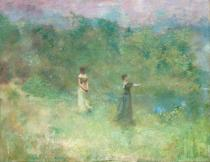 Thomas Wilmer Dewing, Summer, ca. 1890