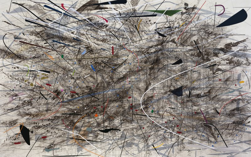 Julie Mehretu, Black City, 2007. © Julie Mehretu, photo: by Tim Thayer
