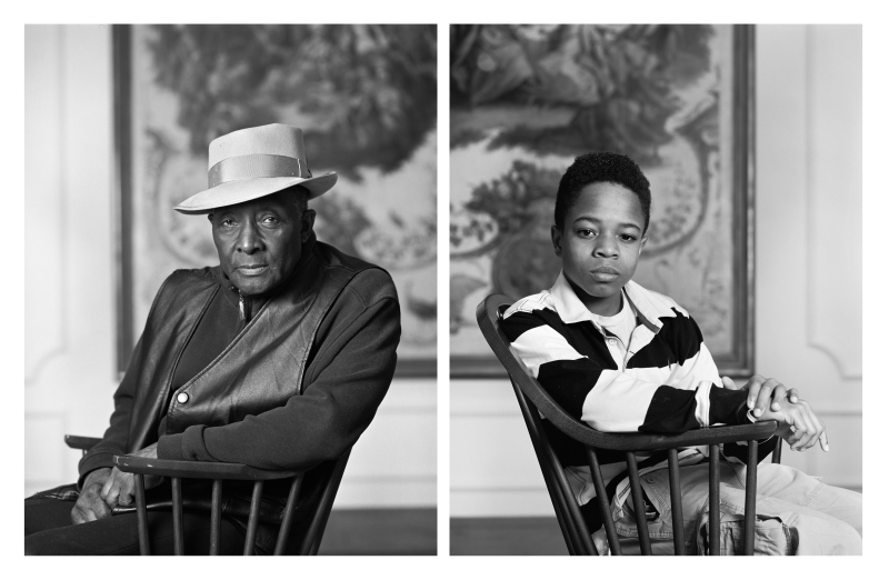 "Dawoud Bey, Fred Stewart II and Tyler Collins, from the series ""The Birmingham Project,"" 2012. © Dawoud Bey. Courtesy Rena Bransten Gallery, San Francisco, CA and Rennie Collection, Vancouver"